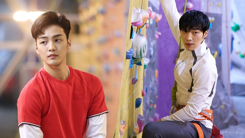 "Woo Do Hwan And Kim Min Jae Rock Climb Like Professionals In ""Tempted"""