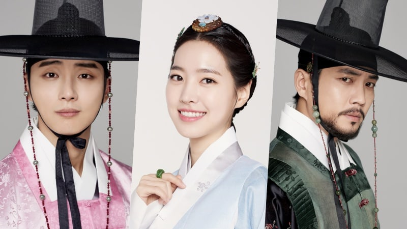 """Grand Prince"" Releases New Character Photos For Main Cast"