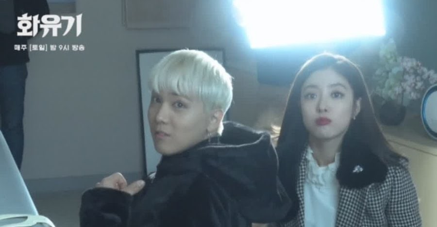 "Watch: ""Hwayugi"" Cast Gets Playful And Goofy Behind The Scenes"