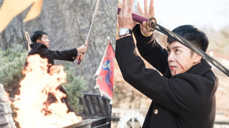 "Lee Seung Gi Takes On A Dangerous Battle In Upcoming Episode Of ""Hwayugi"""
