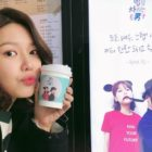 Girls' Generation's Sooyoung Receives Coffee Truck From Comedian Kwon Hyuk Soo