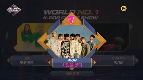 """Watch: iKON Takes 5th Win For """"Love Scenario"""" On """"M!Countdown,"""" Performances By Sunggyu, NCT U, CLC, And More"""