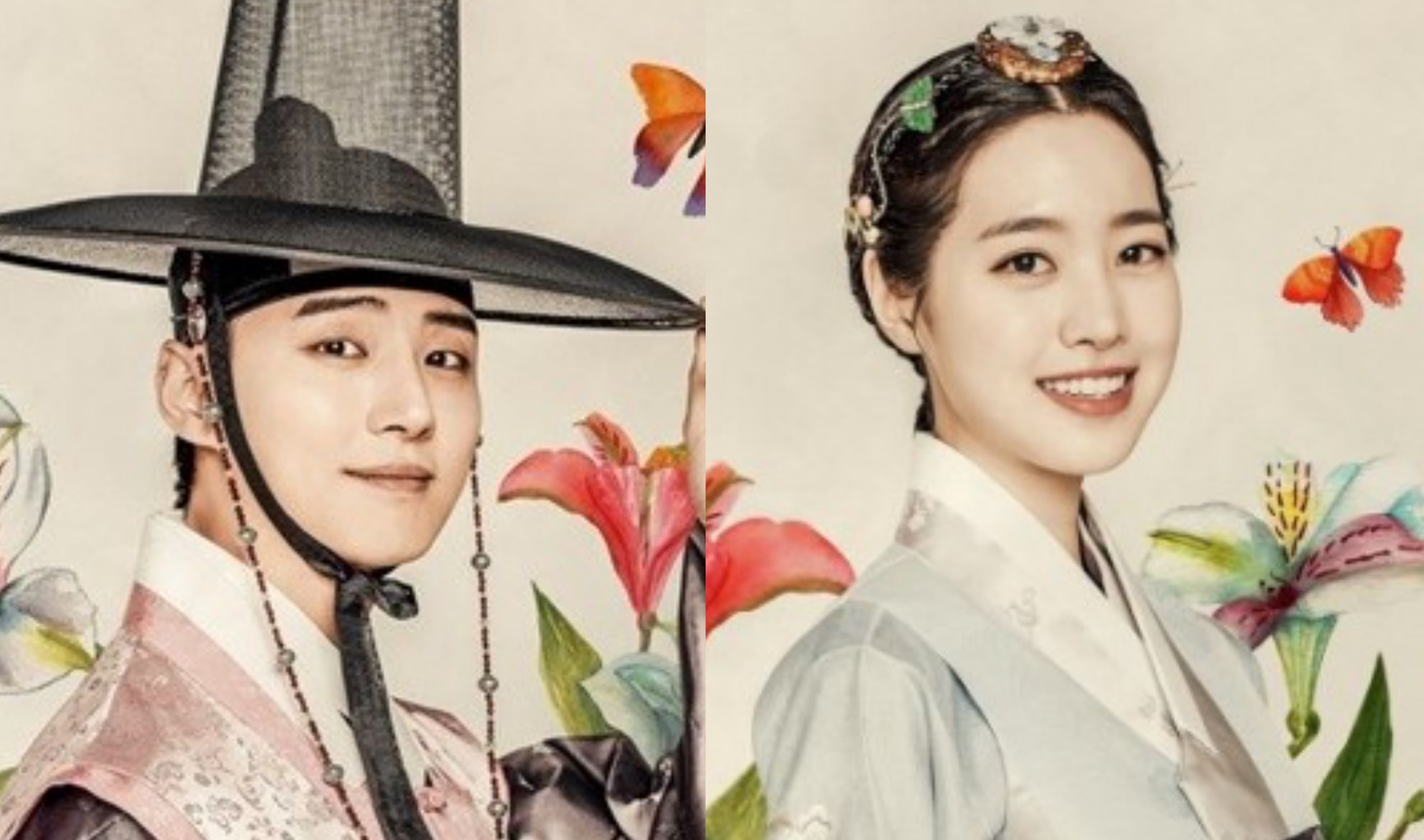 """Grand Prince"" Drops Beautiful Traditional Painting-Style Posters Of The Cast"