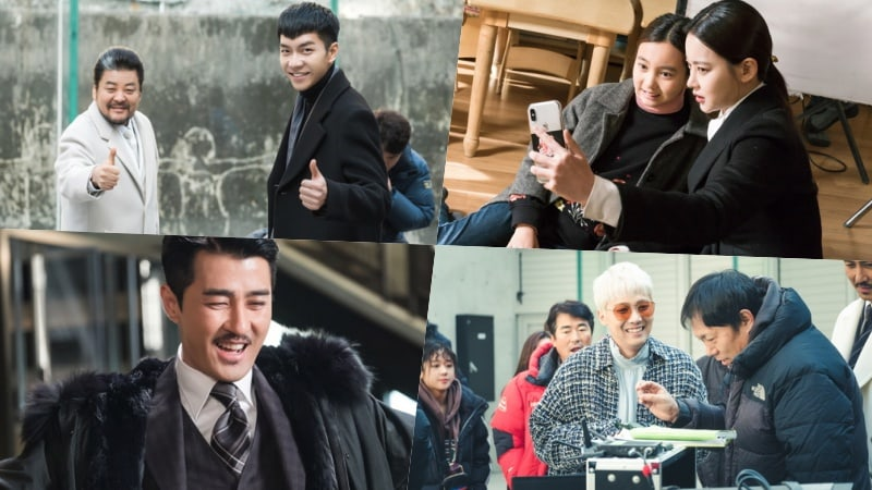 """""""Hwayugi"""" Cast Works Hard But Has Fun On Set In New Behind-The-Scenes Stills"""