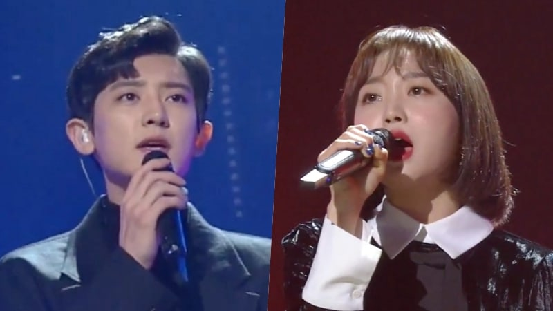 "Watch: EXO's Chanyeol And Punch Perform ""Stay With Me"" Live On ""Yoo Hee Yeol's Sketchbook"""