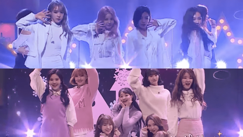 Watch: MAMAMOO And Oh My Girl Reimagine Nostalgic Hits From Past Decades