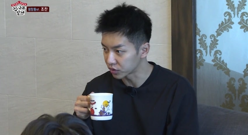Lee Seung Gi Can't Stop Talking About The Military