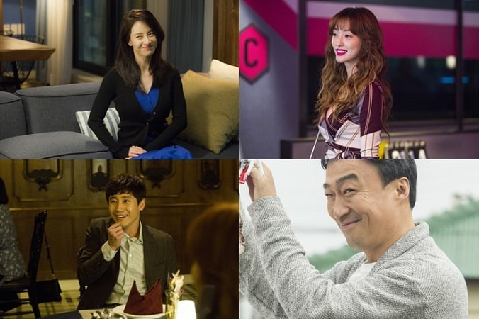 Song Ji Hyo, Lee El, Shin Ha Kyun, And Lee Sung Min Find Themselves In An Affair Game In Upcoming Film