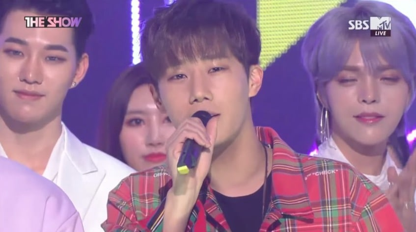 """Watch: INFINITE's Sunggyu Takes 1st Win For """"True Love"""" On """"The Show,"""" Performances By NCT U, MOMOLAND, And More"""