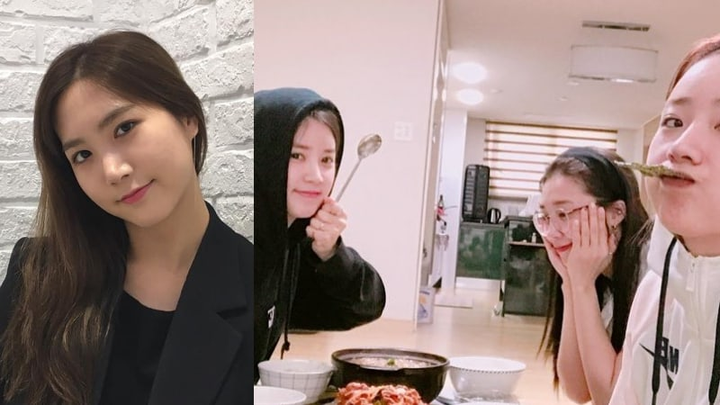 Apink Meets Up With Former Member Hong Yoo Kyung