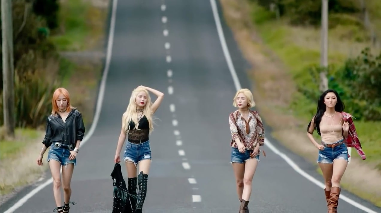 """MAMAMOO Tops Major Realtime Charts With """"Starry Night"""""""