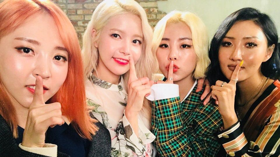 "MAMAMOO Revealed To Have Filmed ""I Can See Your Voice"""