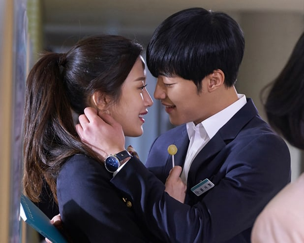 """Moon Ga Young And Woo Do Hwan Look Closer Than Ever For """"Tempted"""""""