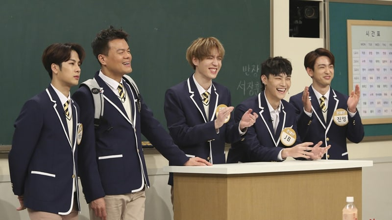 "GOT7 And Park Jin Young Air Their Complaints About ""Ask Us Anything"" Cast Members"
