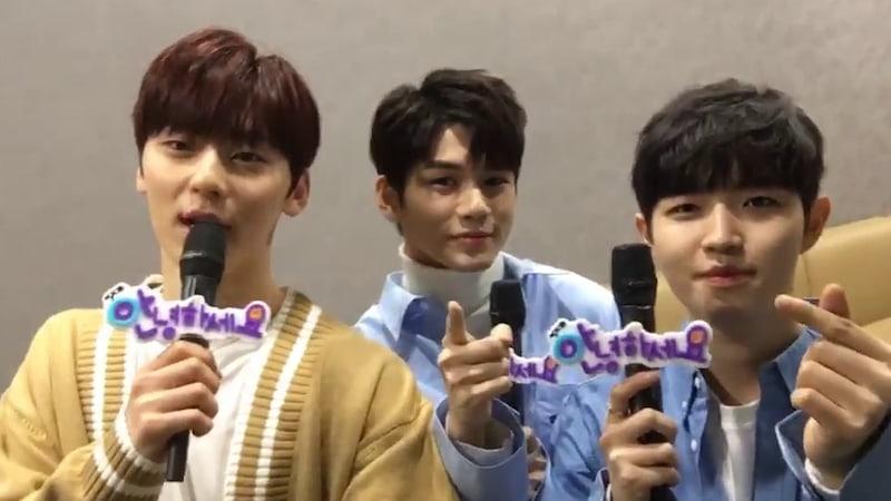 Wanna One's Hwang Min Hyun, Ong Seong Woo, And Kim Jae Hwan Talk About Recent Concerns
