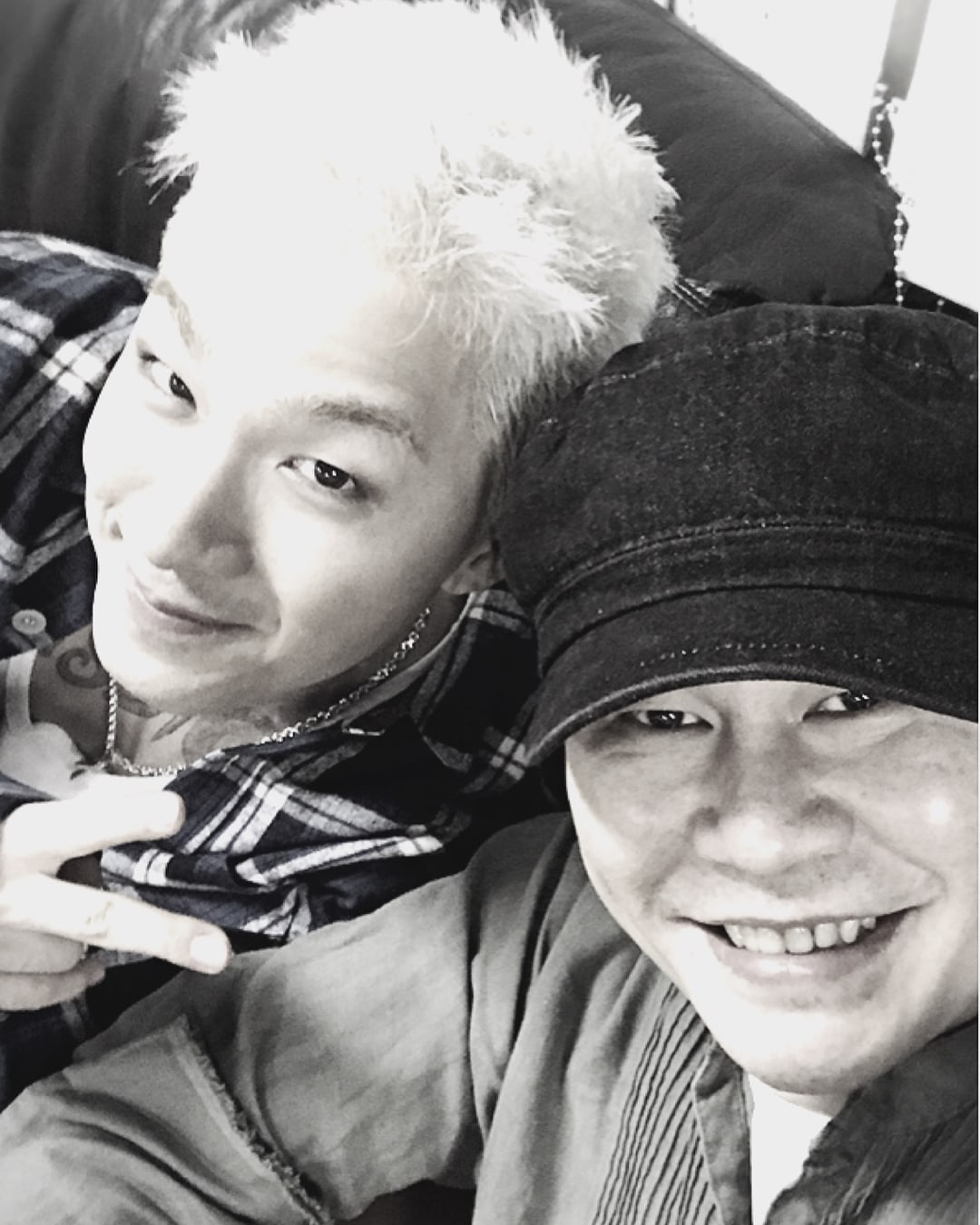 Yang Hyun Suk Bids Adieu To BIGBANG's Taeyang Ahead of Military Enlistment