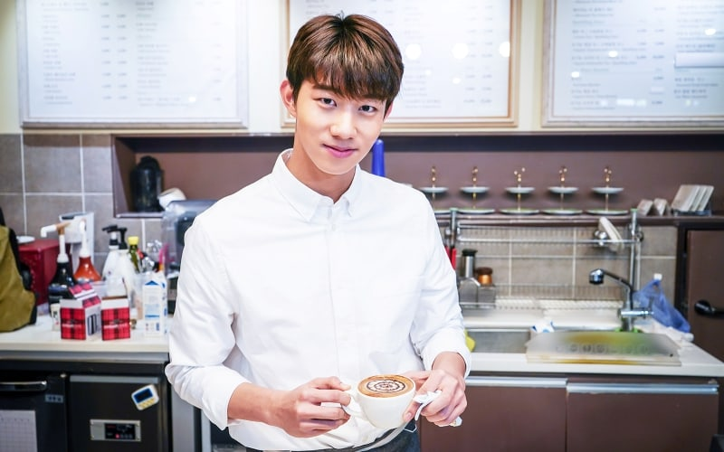 "Ki Do Hoon Transforms Into A Barista For ""Should We Kiss First"""