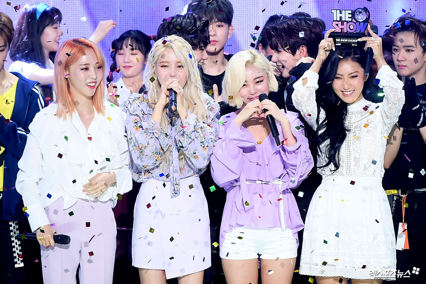 "Watch: MAMAMOO Takes 1st Win For ""Starry Night"" On ""The Show,"" Performances By NCT Dream, APRIL, SF9, And More"