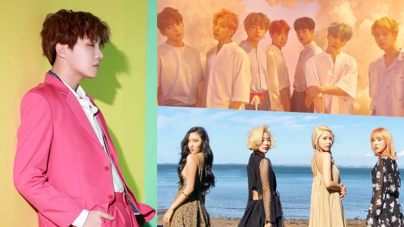 J-Hope, BTS, And MAMAMOO Grab Spots On Billboard's World Albums Chart