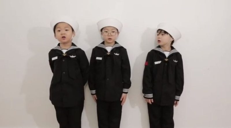 Song Il Gook Shares Adorable Video Of Triplets And Heartwarming Story About White Day