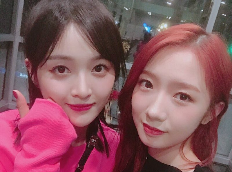 wjsn s xuan yi and mei qi to compete in official chinese version of