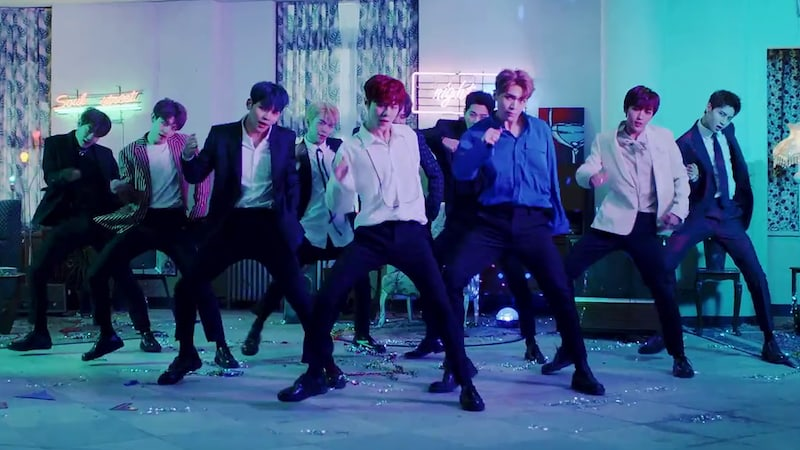 """Watch: UP10TION Invites You To """"Candyland"""" In MV For Long-Awaited 10-Member Comeback"""