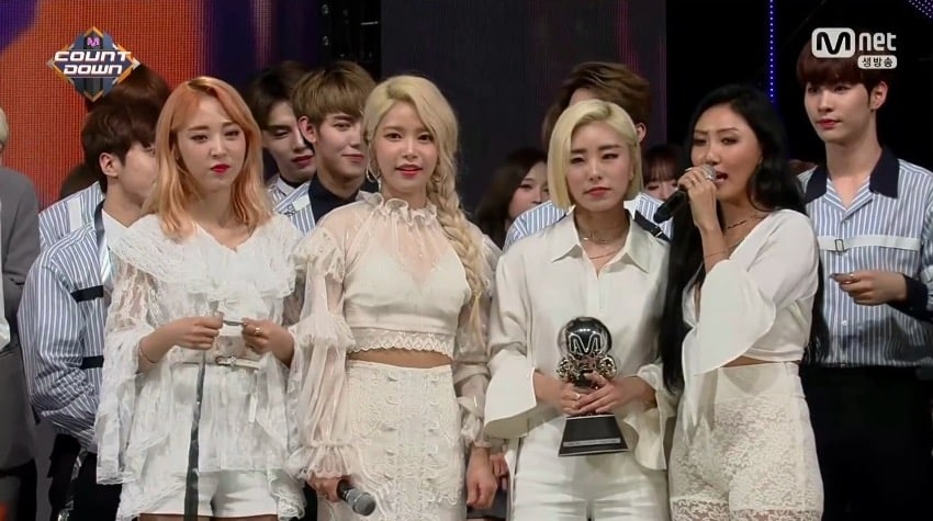 "Watch: MAMAMOO Grabs 3rd Win For ""Starry Night"" On ""M!Countdown,"" Performances By GOT7, UP10TION, NCT, And More"