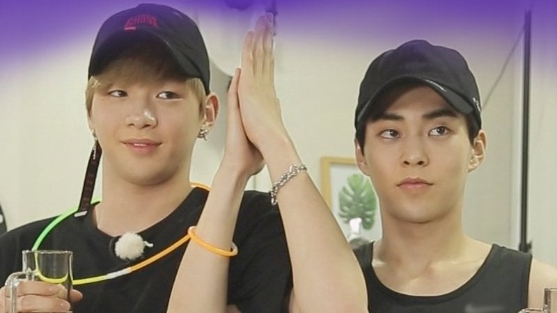 """EXO's Xiumin To Reunite With Wanna One's Kang Daniel On """"It's Dangerous Beyond The Blankets"""""""