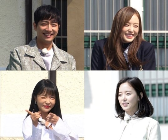 """Running Man"" Teases New Project Featuring Lee Sang Yeob, Lee Da Hee, Hong Jin Young, And Kang Han Na"
