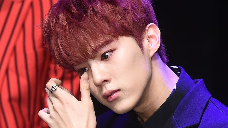 UP10TION's Wooshin Tearfully Talks About Being Back On Stage Again