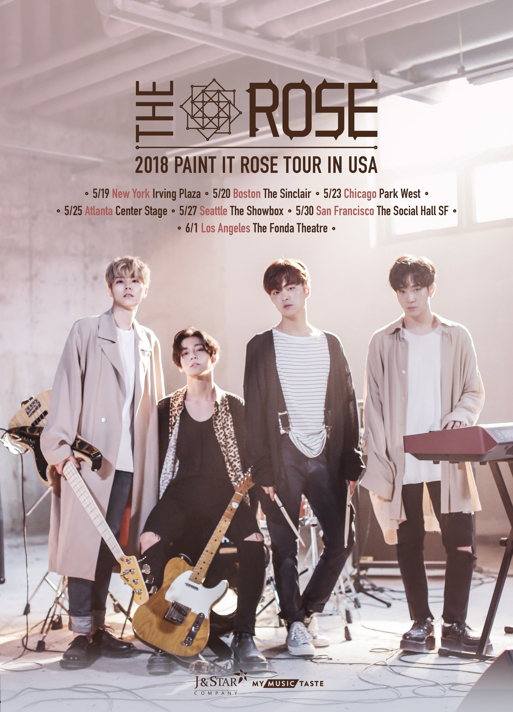 The Rose Announces U.S. Stops On World Concert Tour