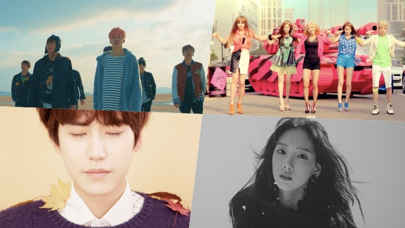 An Analyst Looked For The Most Popular Words And Seasons In Korean Songs: Here's What He Found