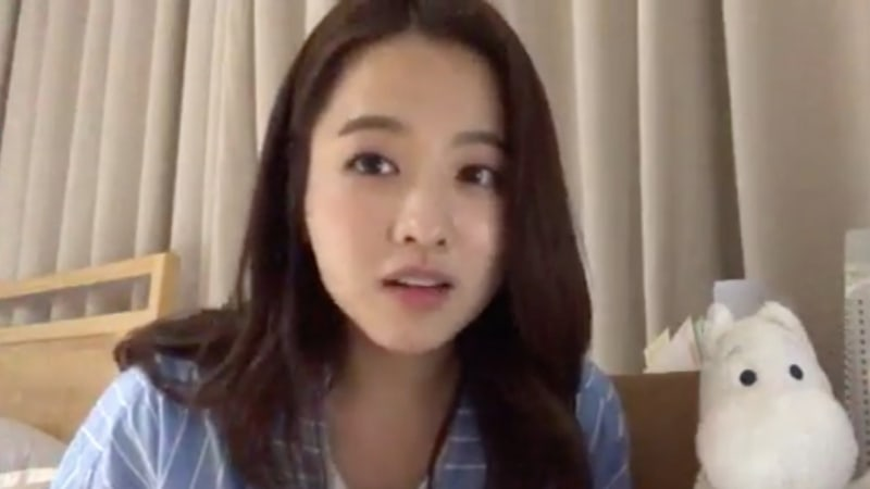 Park Bo Young Calls Out Malicious Commenters During V Live Broadcast