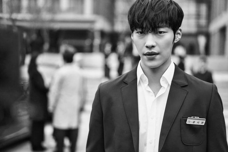 "Woo Do Hwan Stuns In New Black-And-White Stills For ""Tempted"""