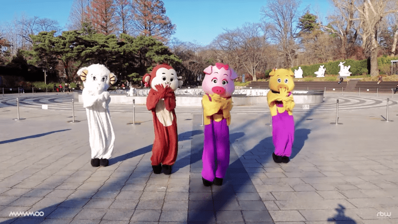 Watch: MAMAMOO Members Transform Into Their Chinese Zodiac In Special Dance Video