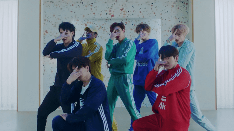 "Watch: GOT7 Is Dressed Head To Toe In Adidas In Performance Video For ""Look"""