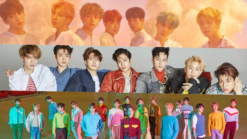 BTS, GOT7, And NCT Take Spots In Top 5 Of Billboard's World Albums Chart