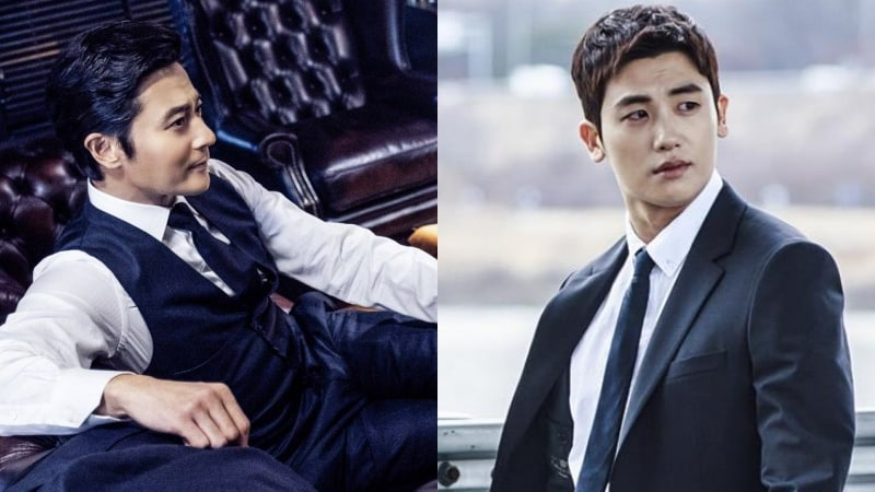 "Jang Dong Gun And Park Hyung Sik Are Handsome Lawyers In First Look At Upcoming Korean Remake Of ""Suits"""