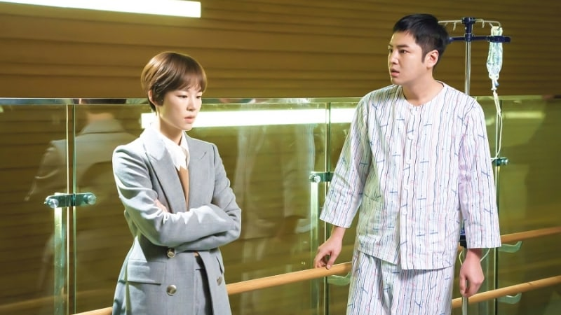 """Han Ye Ri And Jang Geun Suk Confront Each Other In """"Switch"""""""