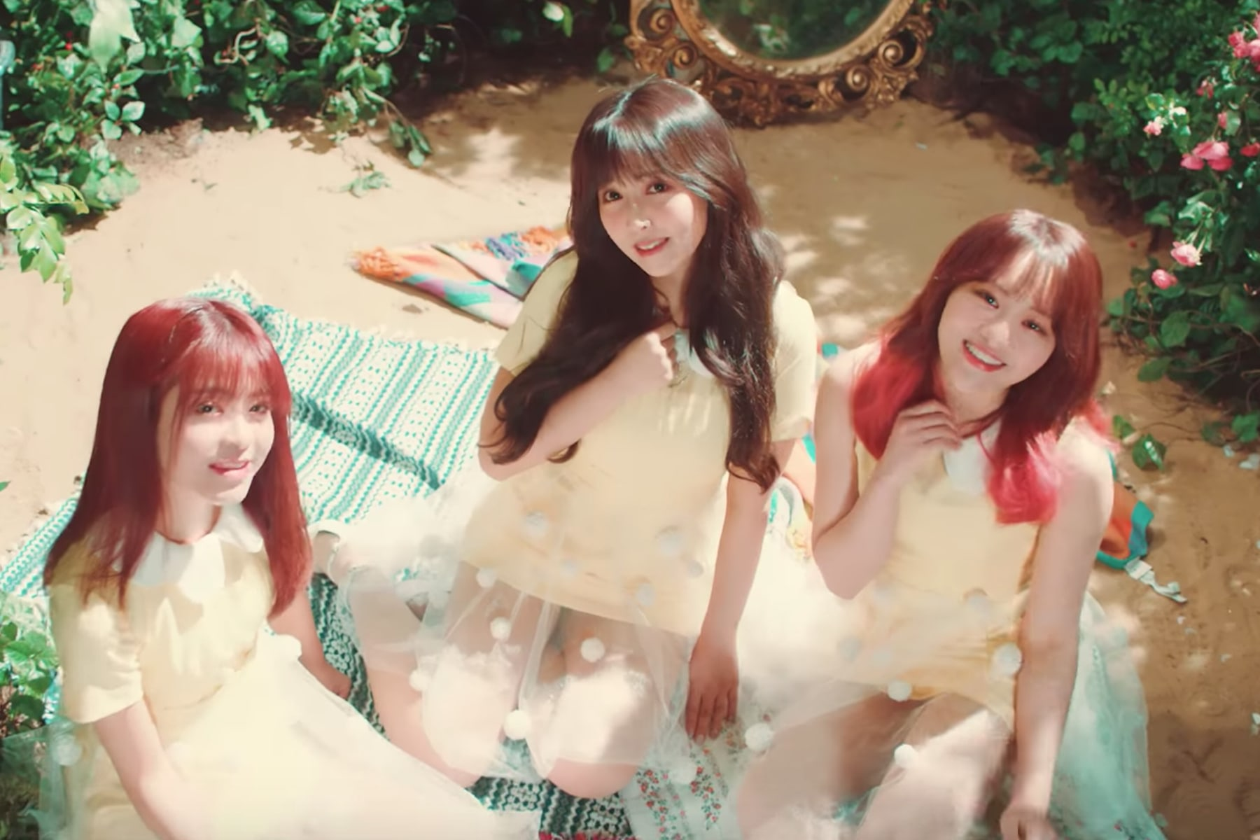 "Watch: Japanese Actresses Debut As K-Pop Girl Group Honey Popcorn With MV For ""Bibidi Babidi Boo"""