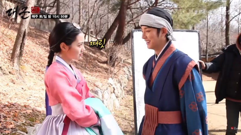 """Watch: """"Grand Prince"""" Shares Behind-The-Scenes Of Yoon Shi Yoon And Jin Se Yeon's Kiss"""