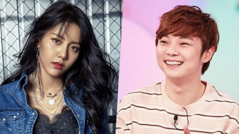 FNC Entertainment Responds To Reports Of AOA's Hyejeong Dating Magician Choi Hyun Woo