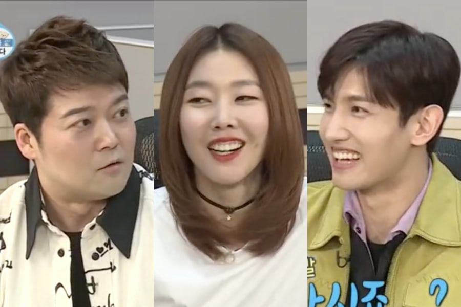 """Jun Hyun Moo Gets Jealous Over Han Hye Jin's Interest In TVXQ's Changmin On """"I Live Alone"""""""