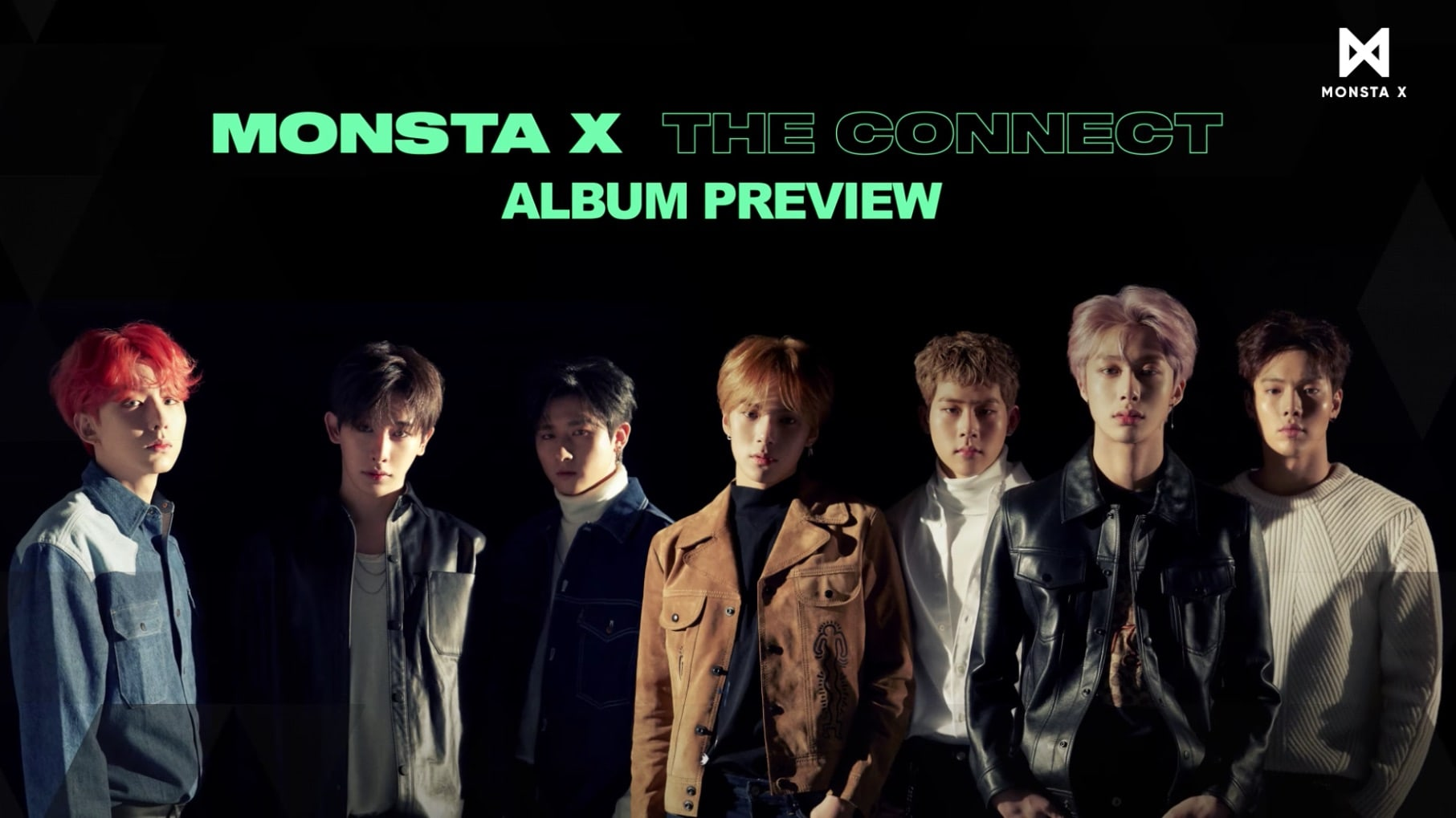 "Update: MONSTA X Gives Sneak Peek Of ""The Connect"" In Album Preview"