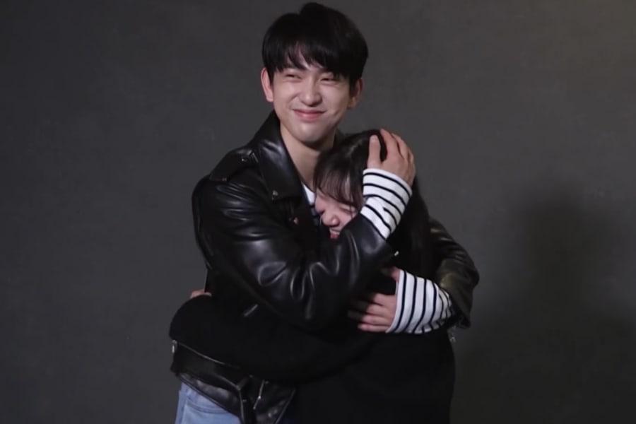 Watch: GOT7's Jinyoung Surprises A Lucky Fan And Gives Her Heartfelt Advice