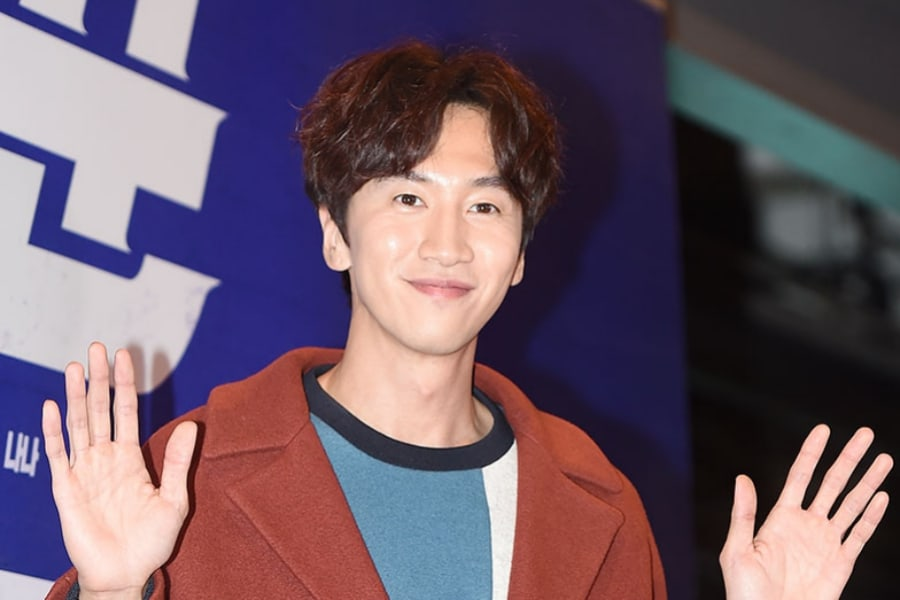 """Lee Kwang Soo Thoughtfully Gifts """"Live"""" Production Staff"""