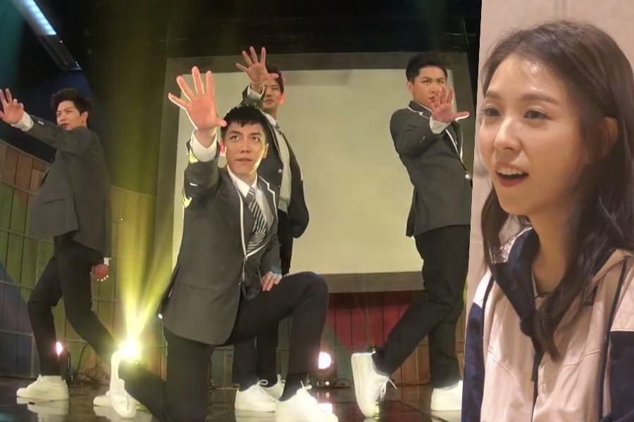 """Watch: Lee Seung Gi, Yook Sungjae, And """"Master In The House"""" Cast Wow BoA With Their Moves"""