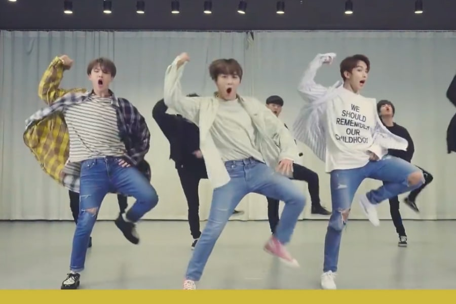 "SEVENTEEN's BSS Go All Out In Energetic Choreography Video For ""Just Do It"""