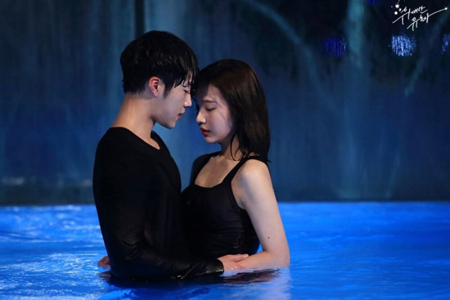 """Woo Do Hwan And Red Velvet's Joy Share An Intimate Moment On """"Tempted"""""""