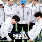 "Kim Jong Kook Tests Out His Strength And Speed Against Olympic Skeleton Racers On ""Running Man"""